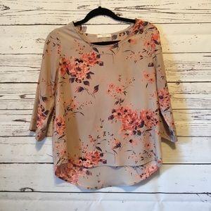 Le Lis Floral Shirt